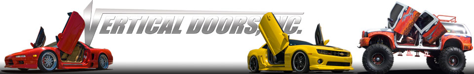 Bolt-on Vertical Lambo Door Conversion kits